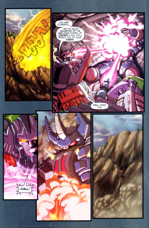 Read online Transformers Armada comic -  Issue #16 - 6