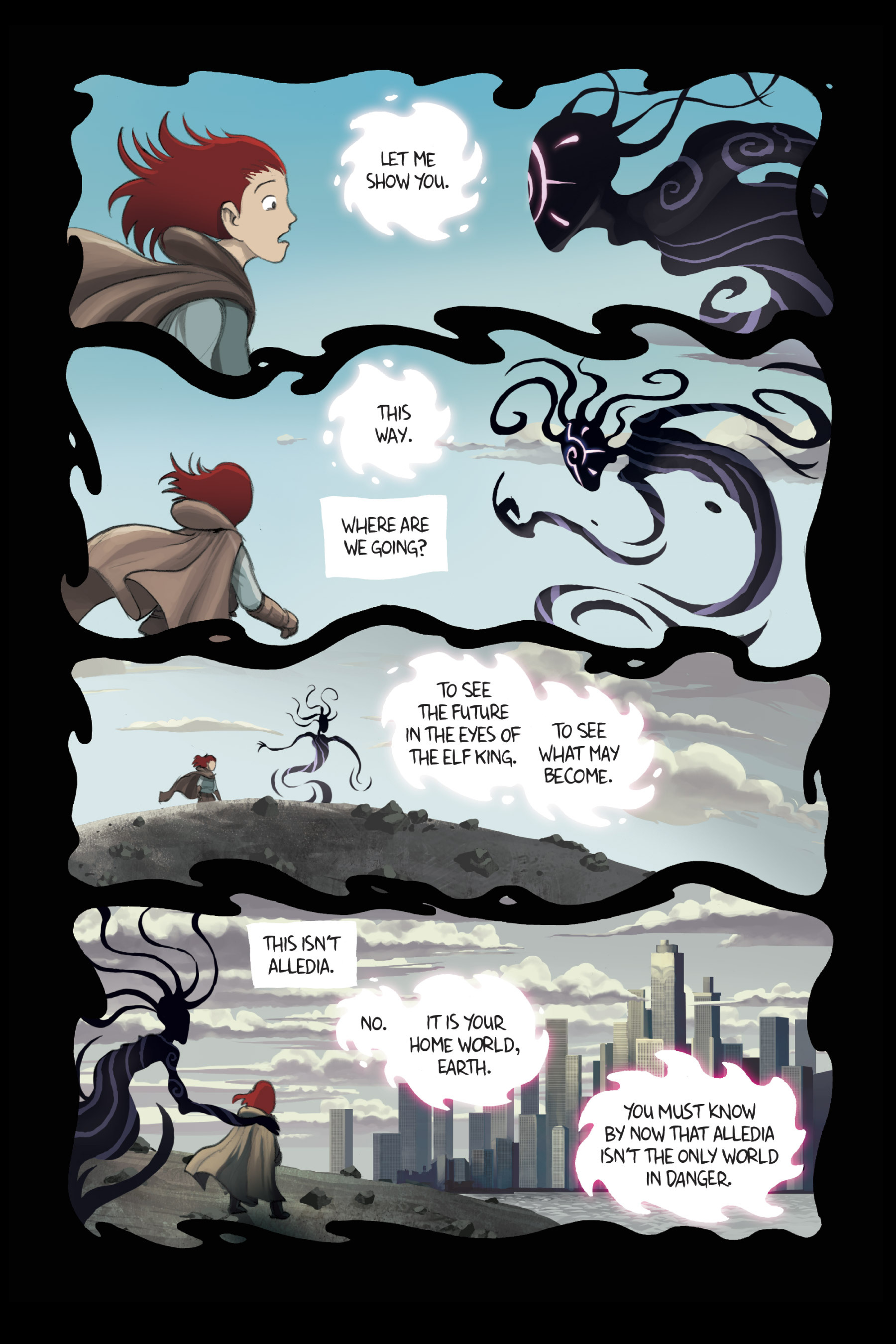 Read online Amulet comic -  Issue #3 - 76