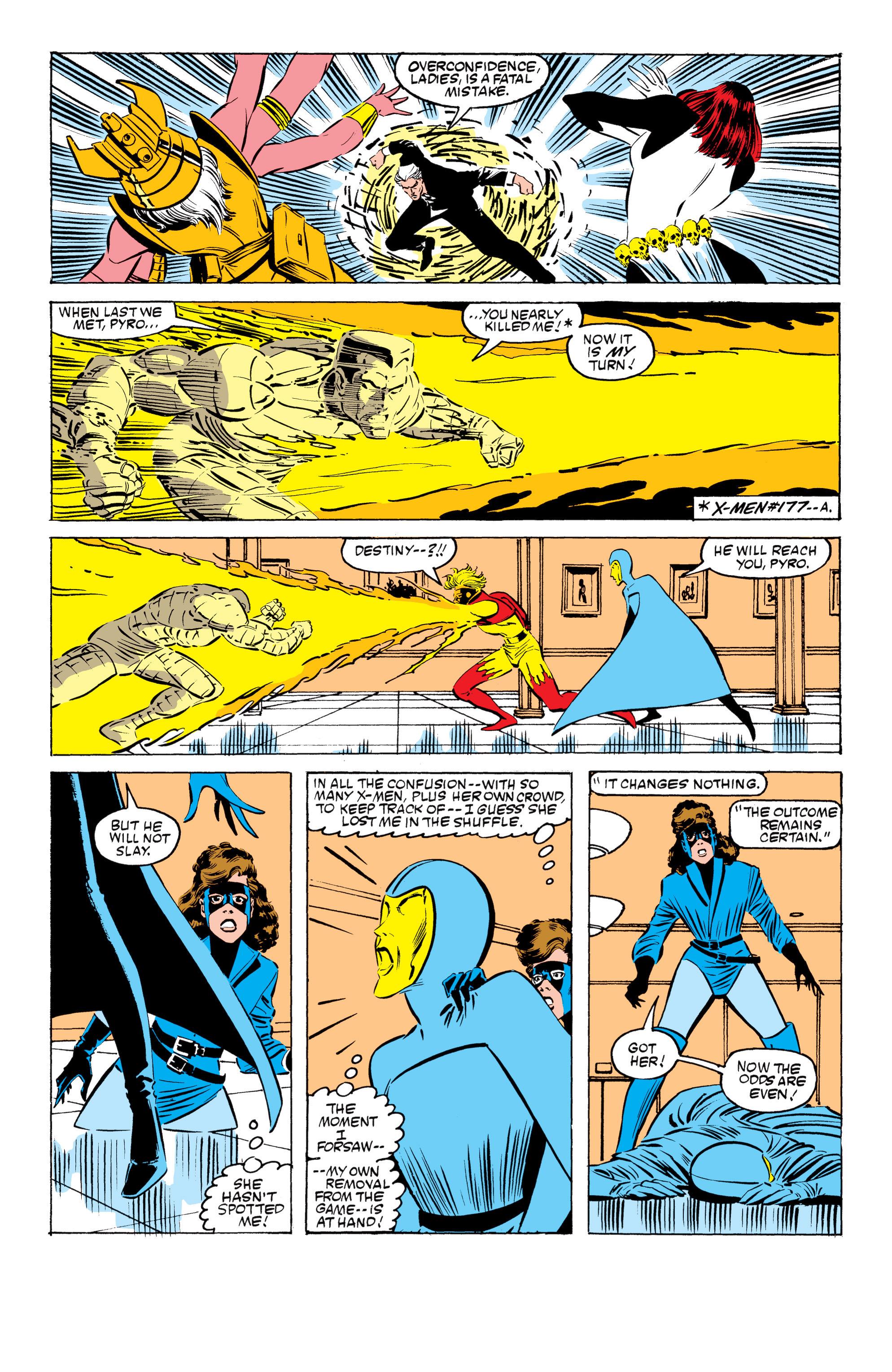 Read online Uncanny X-Men (1963) comic -  Issue #199 - 20