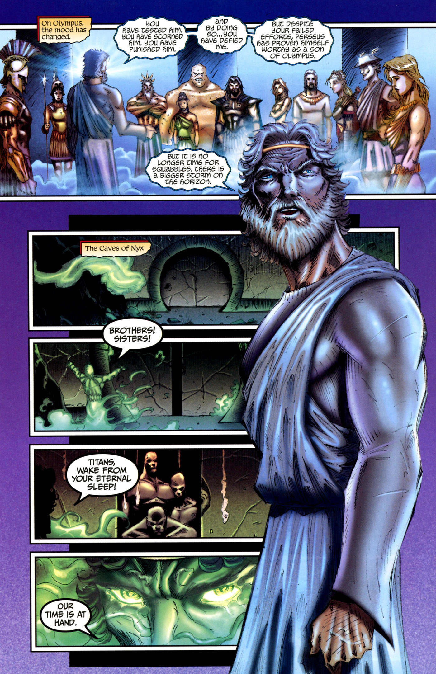 Read online Wrath of the Titans comic -  Issue #4 - 23