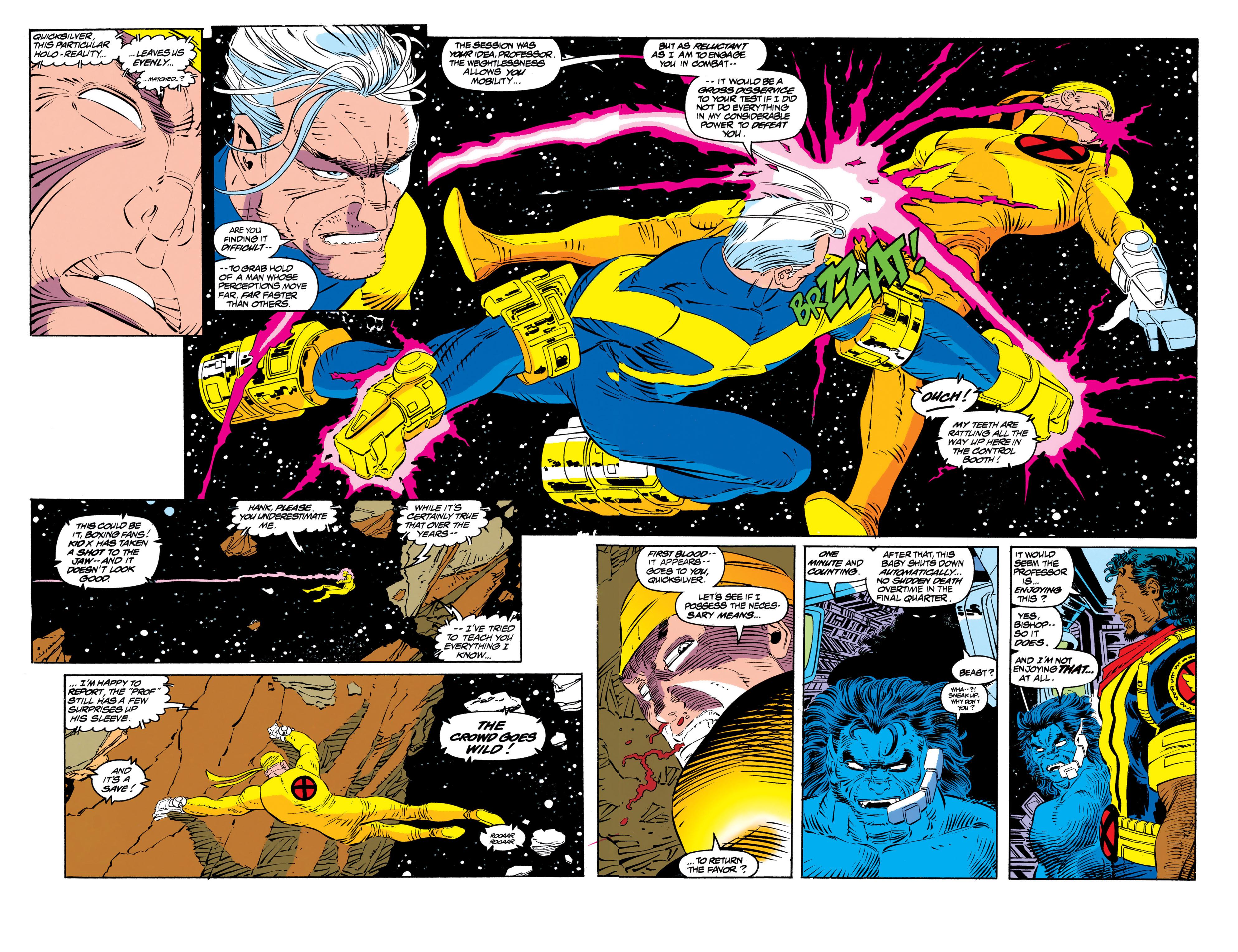Read online Uncanny X-Men (1963) comic -  Issue #306 - 7