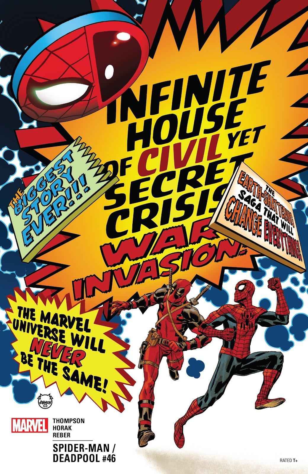 Read online Spider-Man/Deadpool comic -  Issue #46 - 1