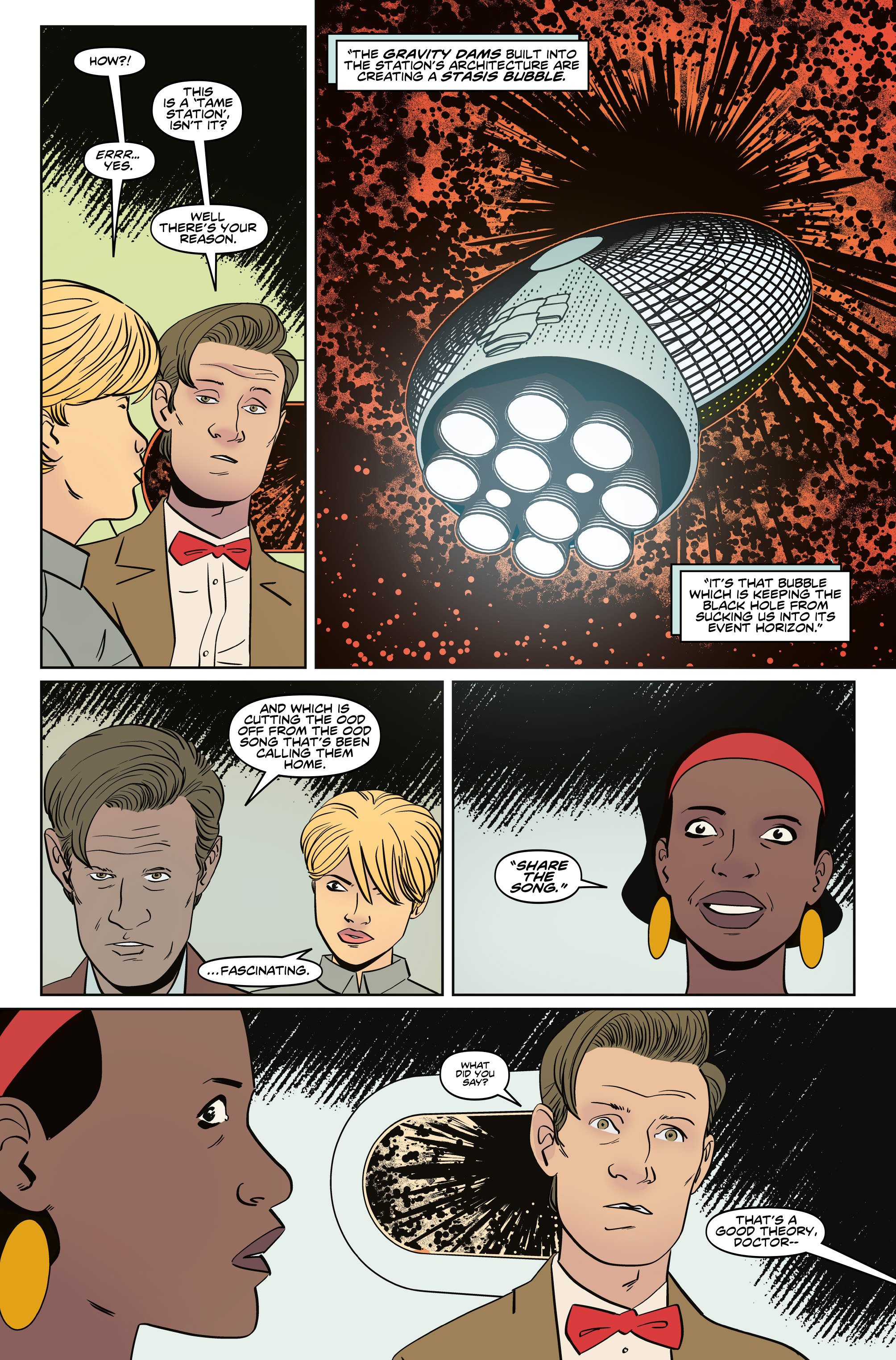 Read online Doctor Who: The Eleventh Doctor Year Three comic -  Issue #5 - 16