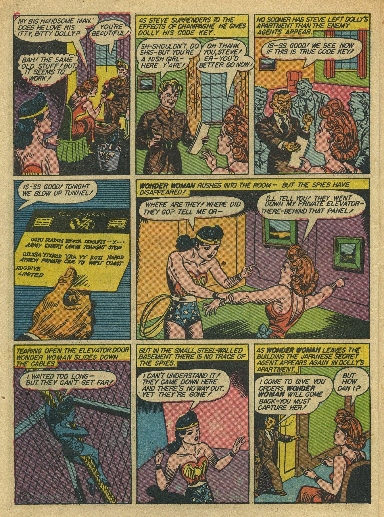 Read online Sensation (Mystery) Comics comic -  Issue #10 - 10