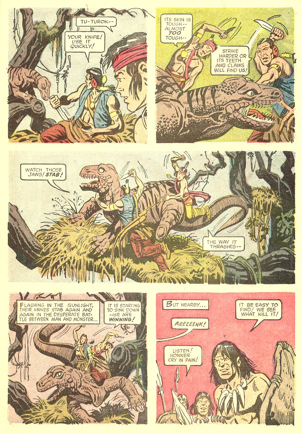 Read online Turok, Son of Stone comic -  Issue #68 - 23