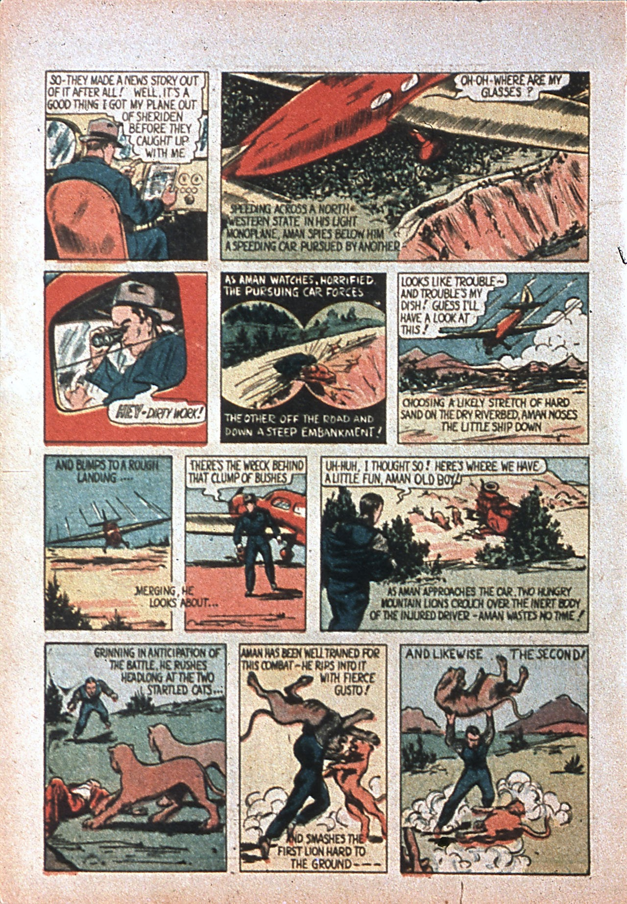 Read online Amazing Man Comics comic -  Issue #7 - 5