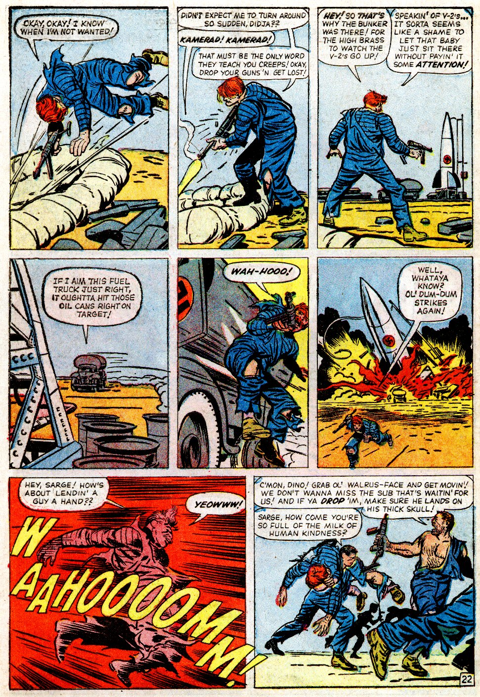 Read online Sgt. Fury comic -  Issue #2 - 30