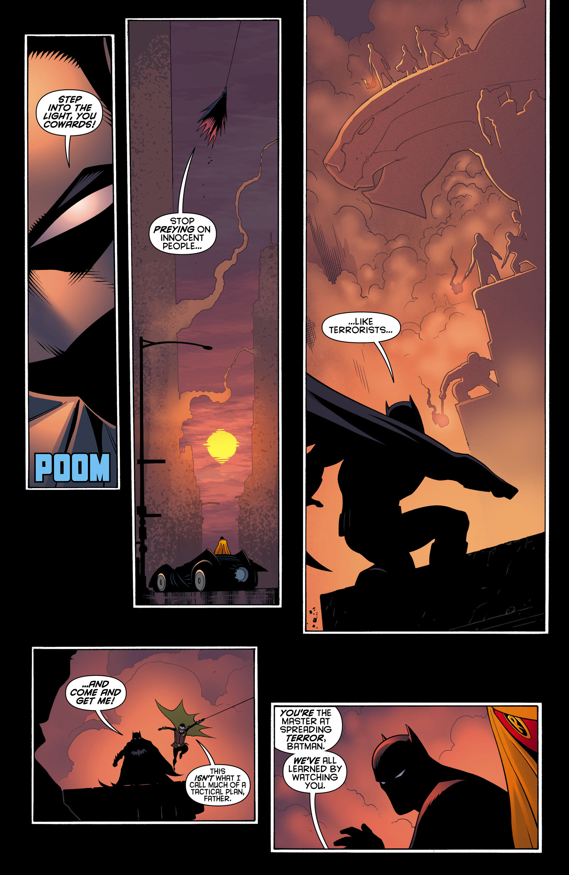 Read online Batman and Robin (2011) comic -  Issue #11 - 20