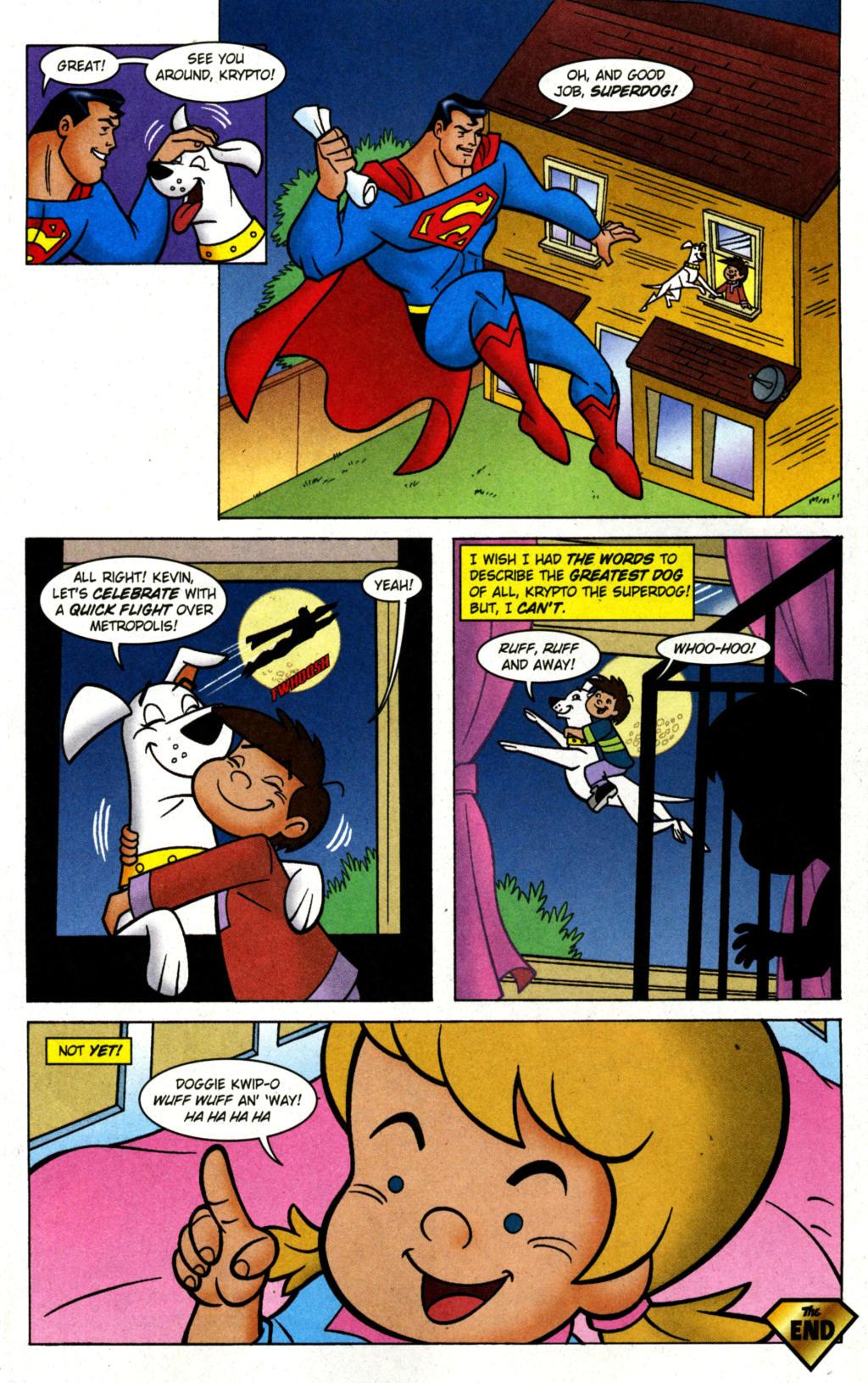 Read online Krypto the Superdog comic -  Issue #1 - 11