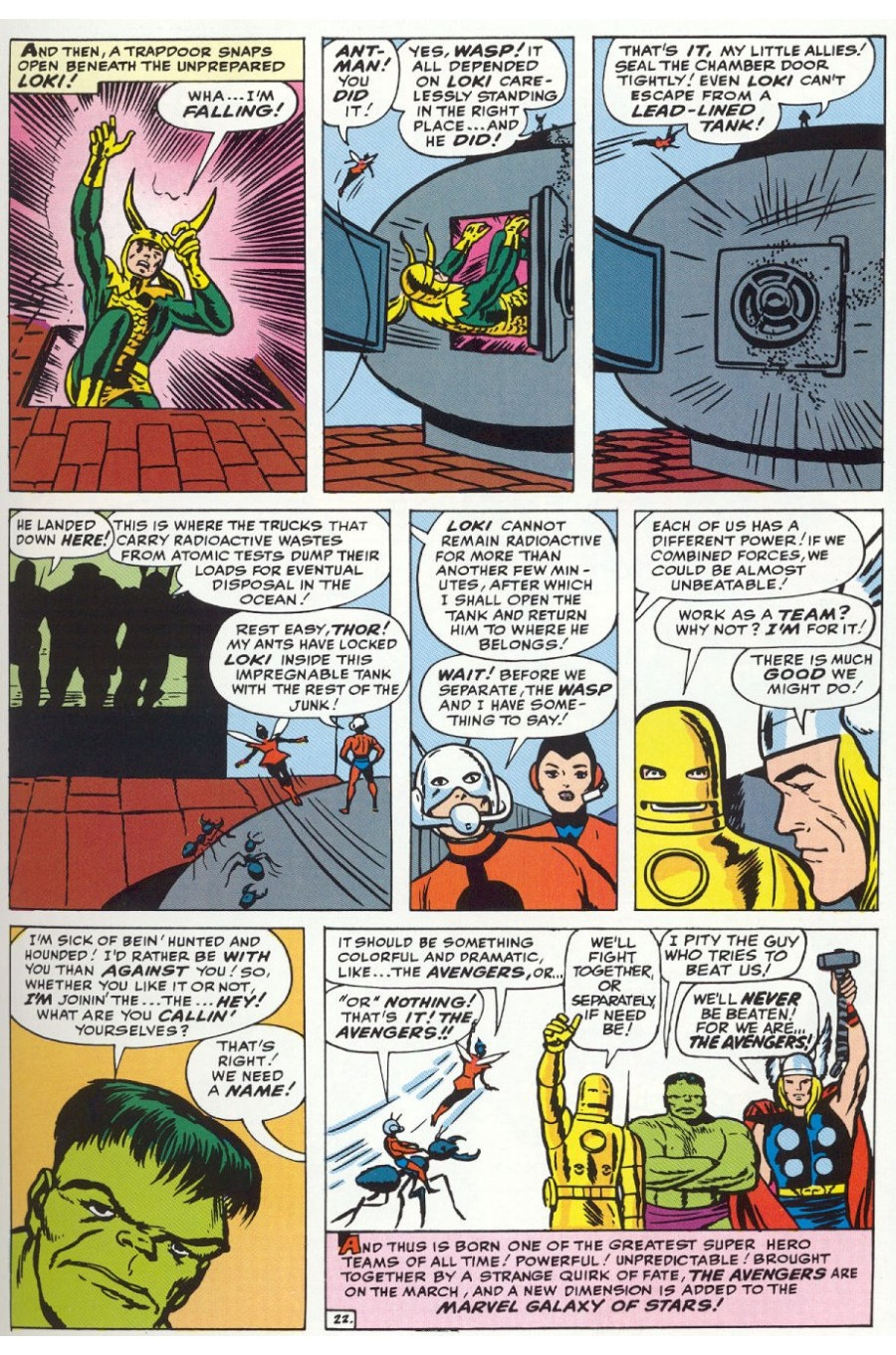 The Avengers (1963) 1 Page 22