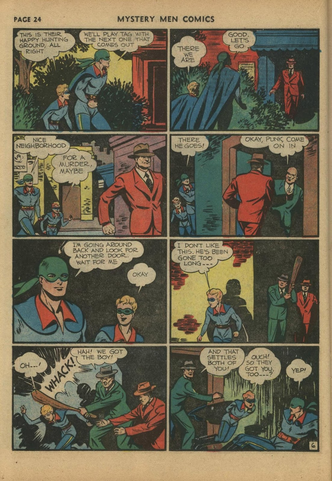 Mystery Men Comics issue 17 - Page 26
