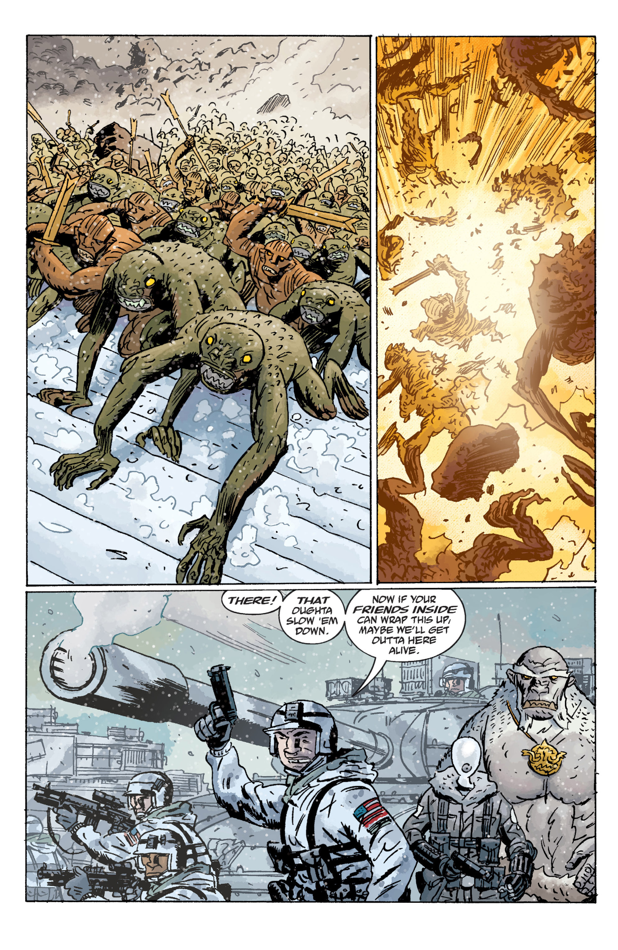 Read online B.P.R.D. (2003) comic -  Issue # TPB 11 - 59