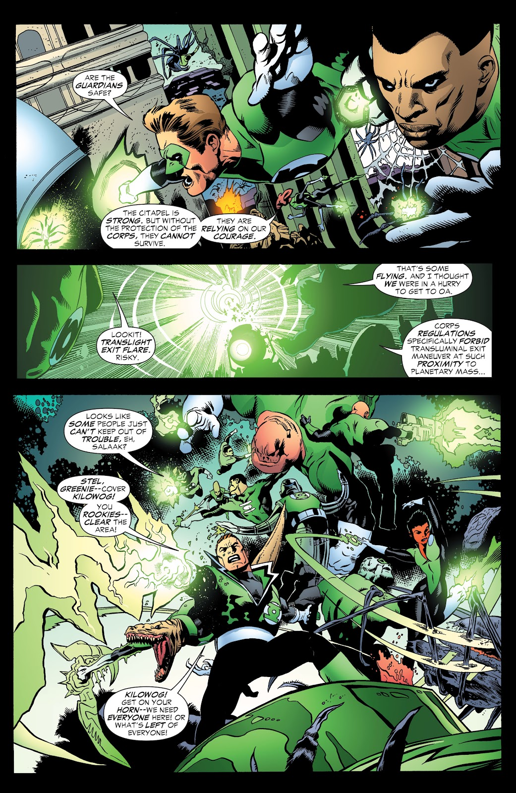 Read online Green Lantern by Geoff Johns comic -  Issue # TPB 1 (Part 3) - 78