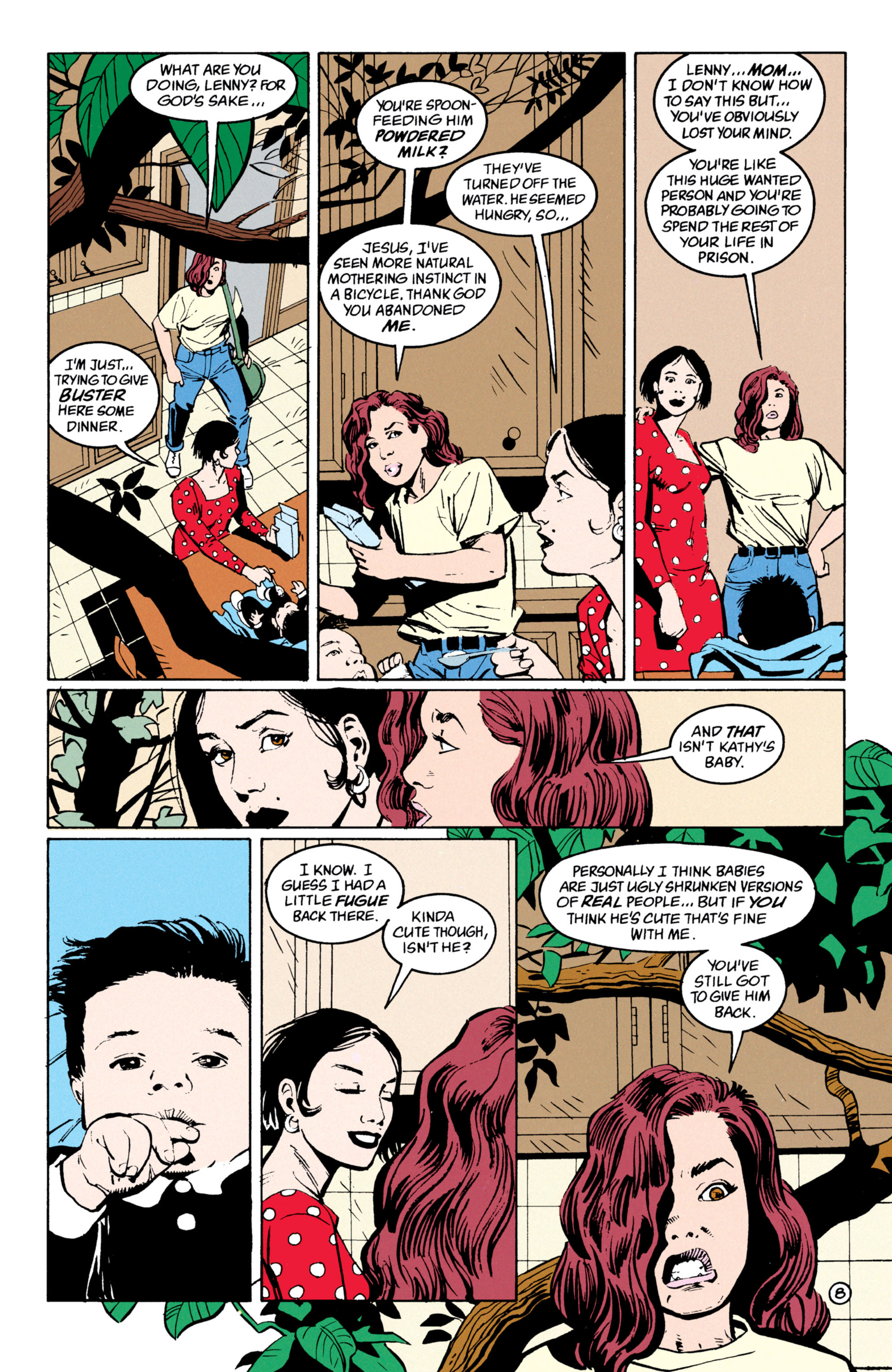 Read online Shade, the Changing Man comic -  Issue #53 - 9