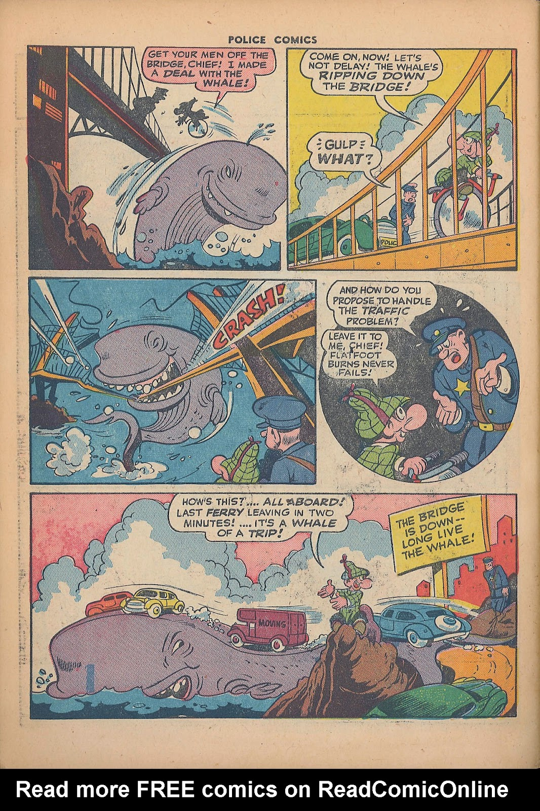 Police Comics issue 44 - Page 50