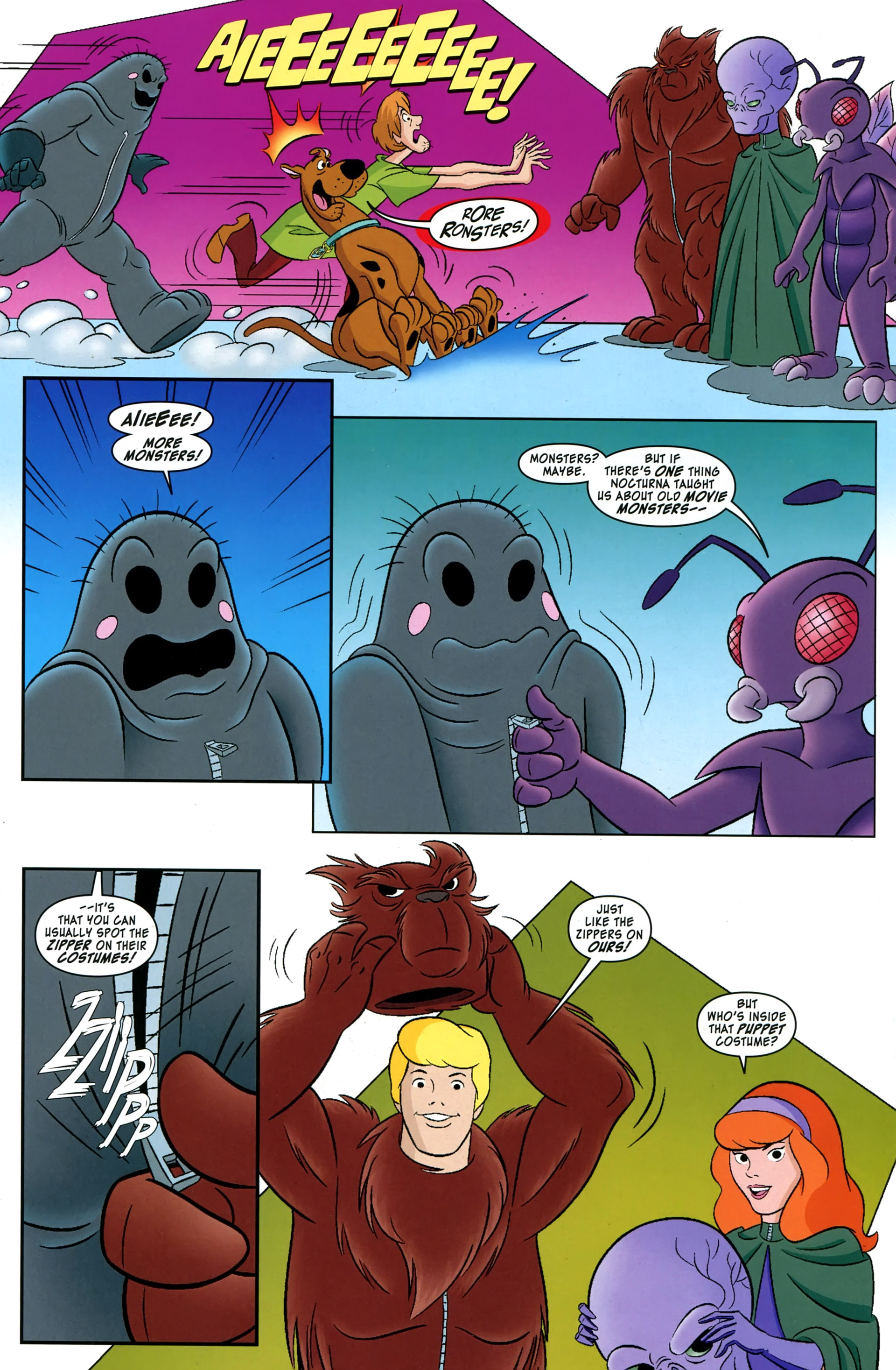 Read online Scooby-Doo: Where Are You? comic -  Issue #38 - 12