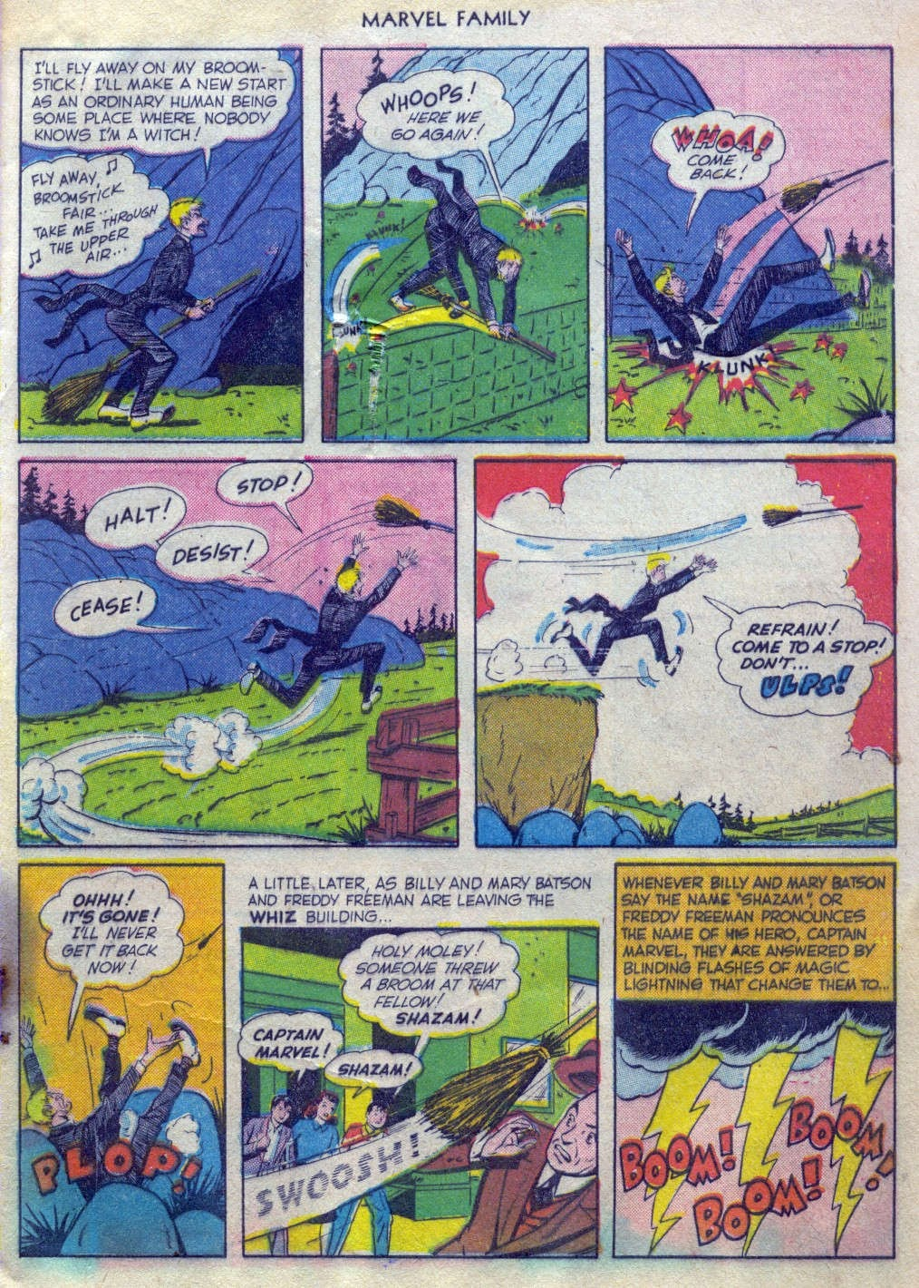 The Marvel Family issue 52 - Page 4
