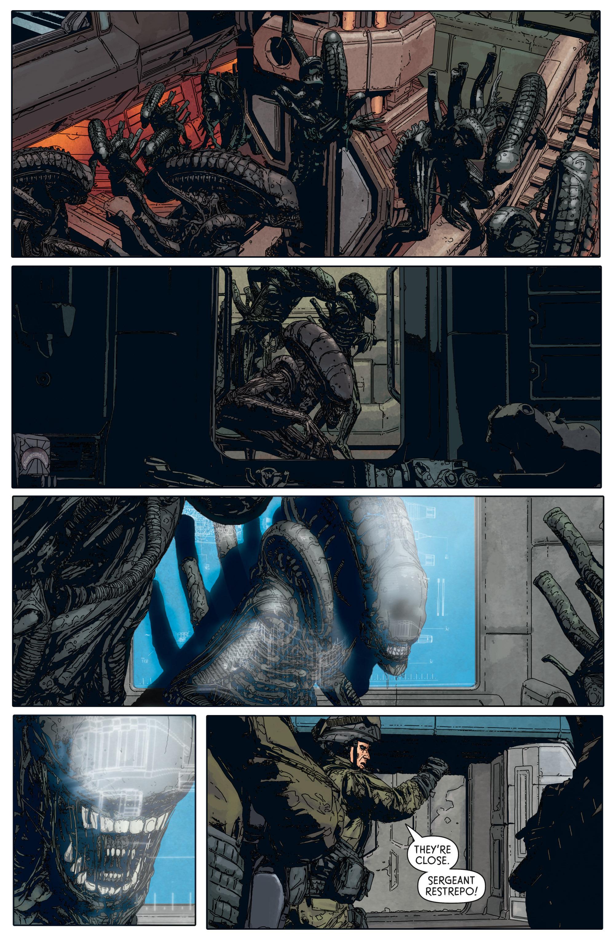 Read online Aliens: Defiance comic -  Issue #5 - 21
