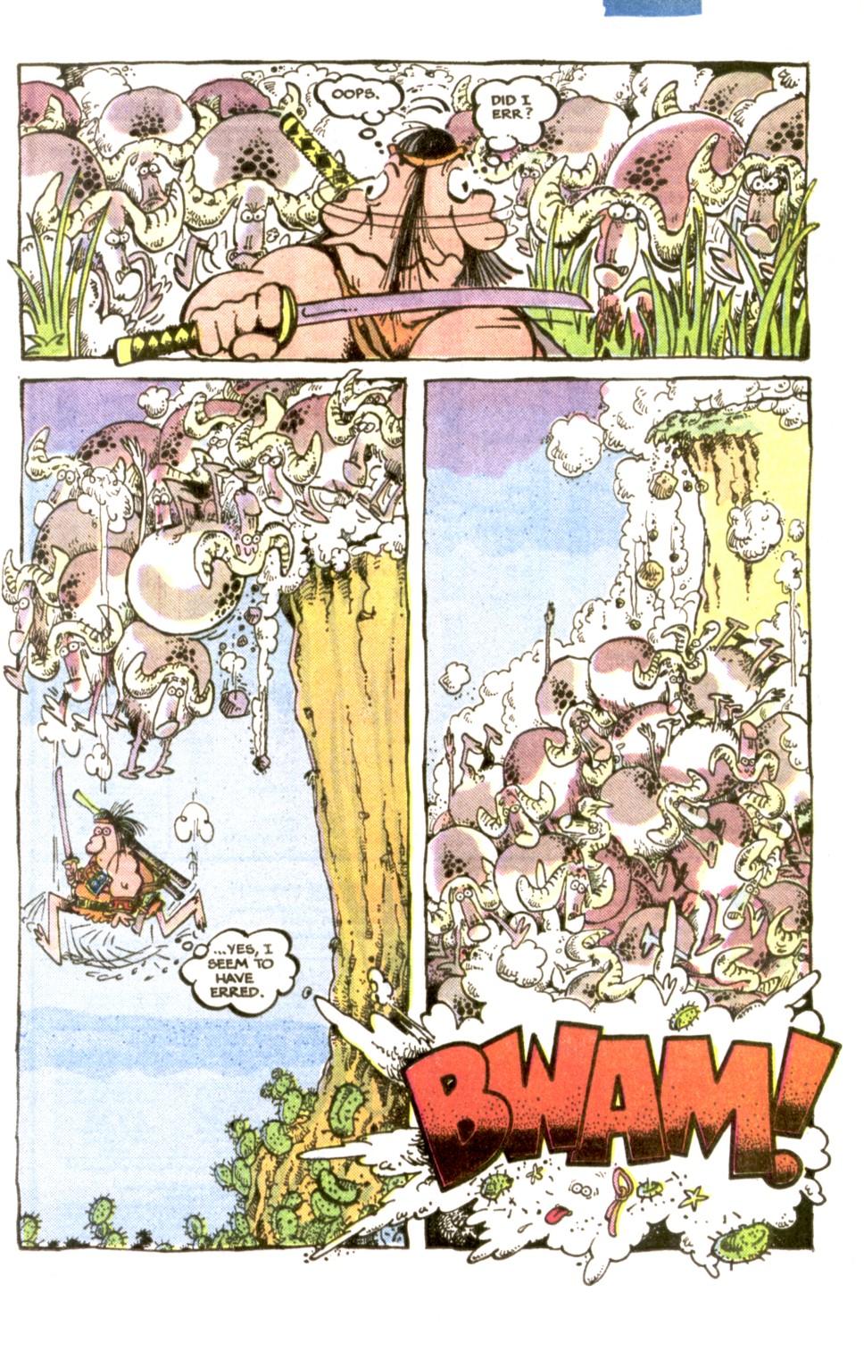 Read online Sergio Aragonés Groo the Wanderer comic -  Issue #1 - 8