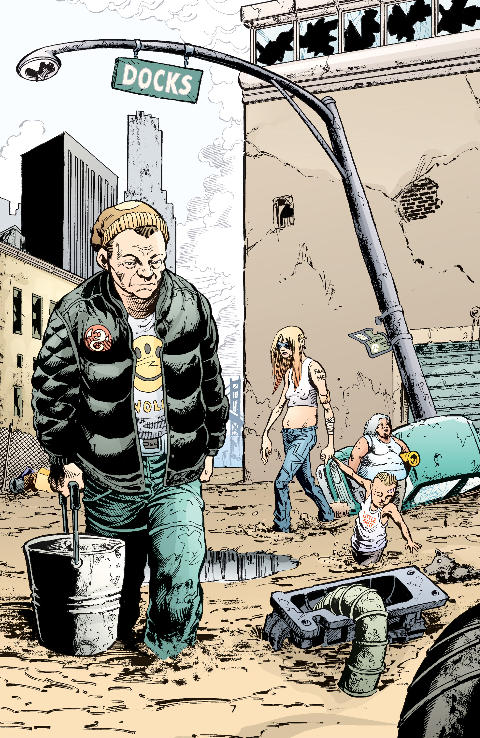 Read online Transmetropolitan comic -  Issue #49 - 8