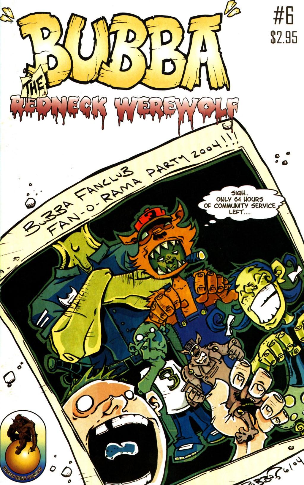 Bubba the Redneck Werewolf 6 Page 1