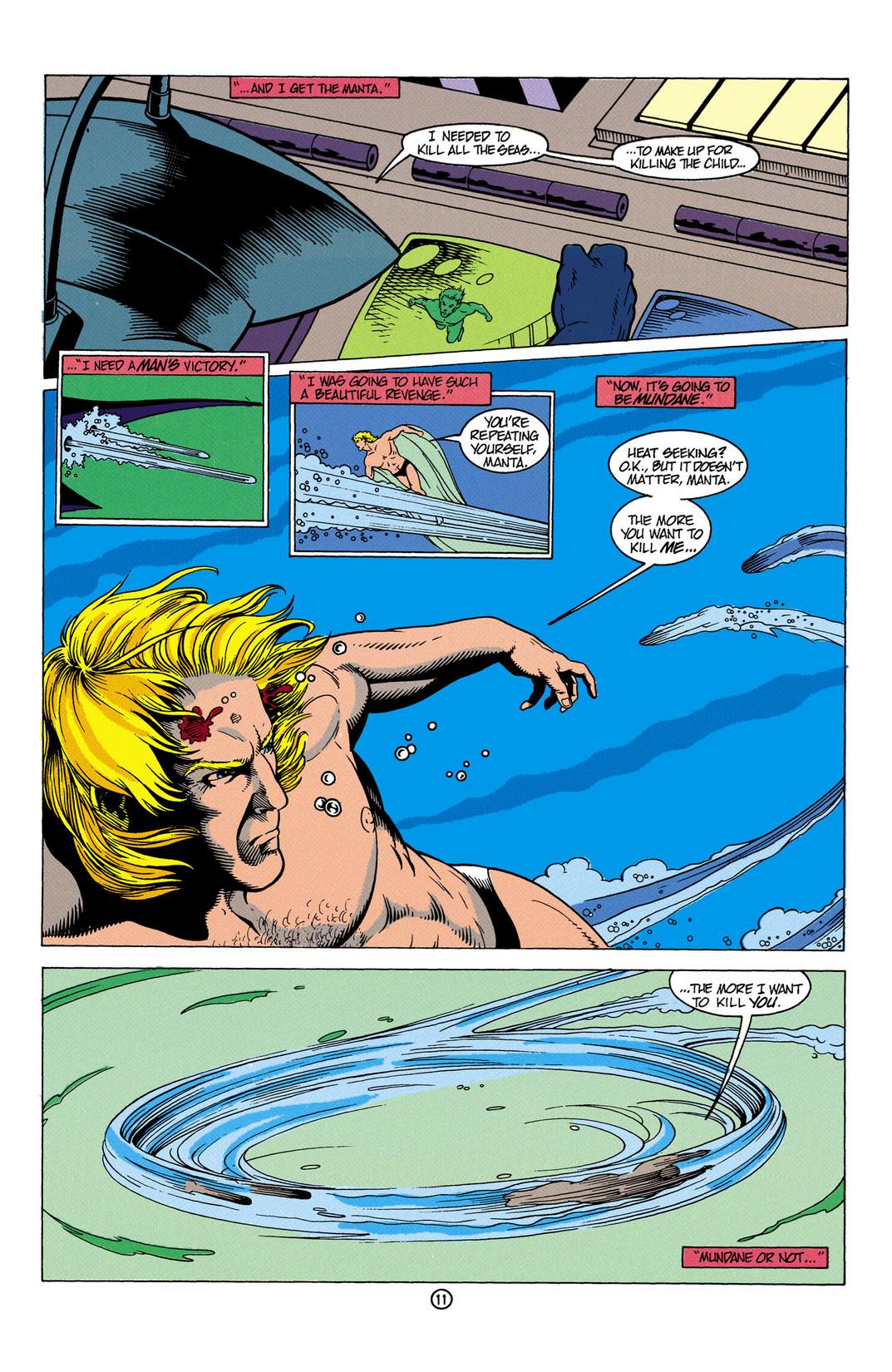 Read online Aquaman (1991) comic -  Issue #6 - 12