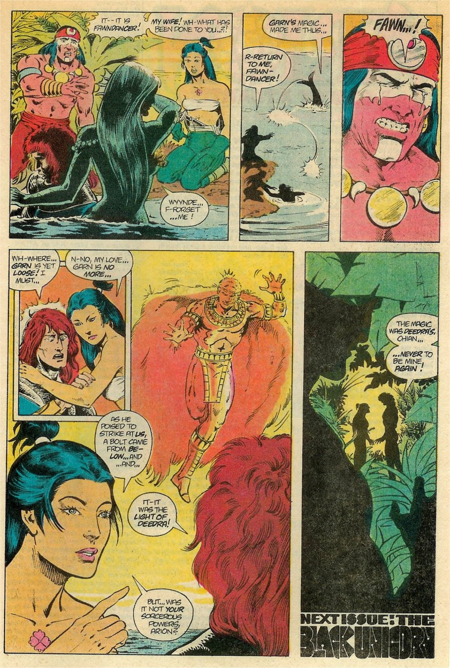 Read online Arion, Lord of Atlantis comic -  Issue #19 - 24