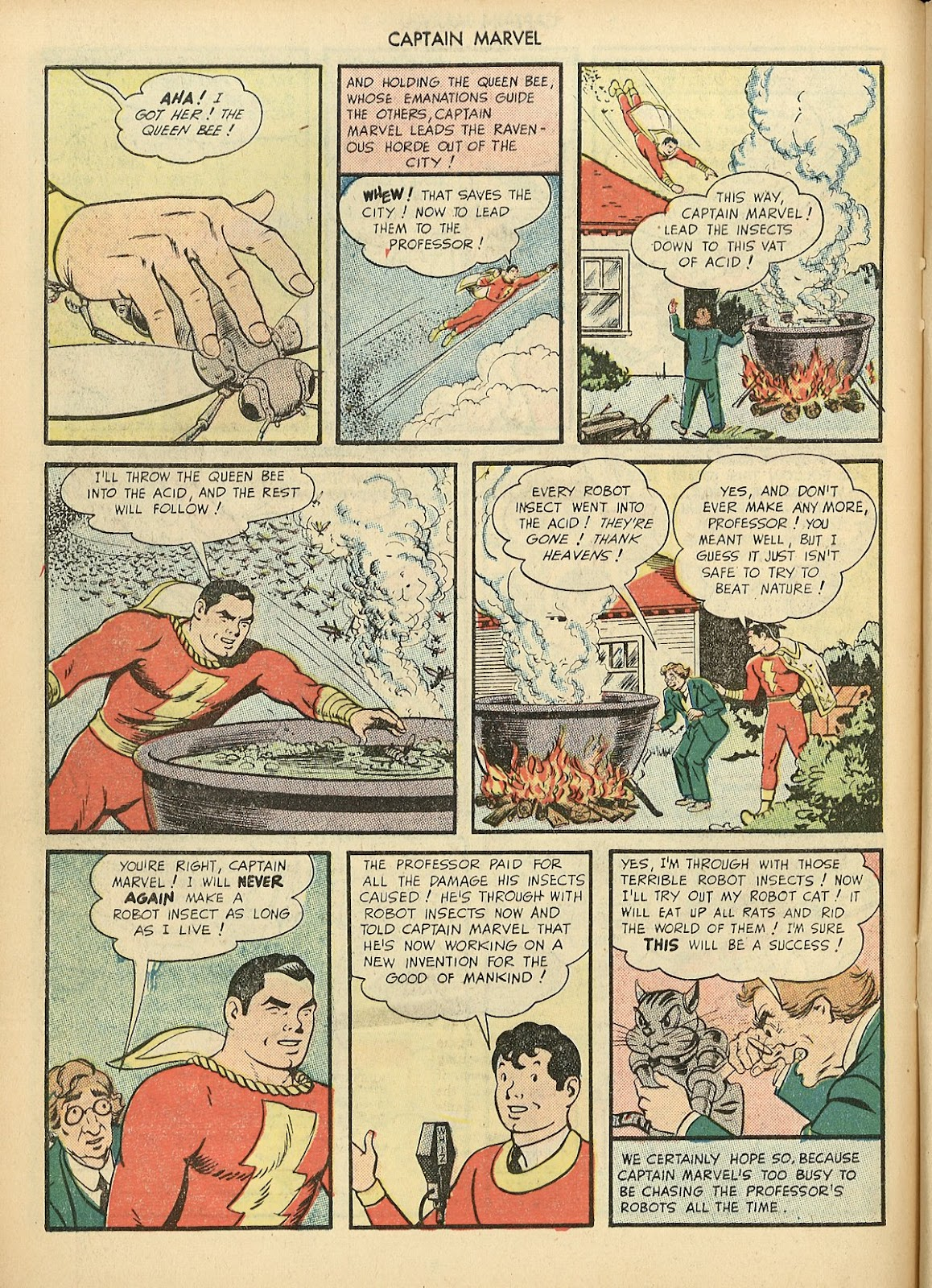 Captain Marvel Adventures issue 70 - Page 22