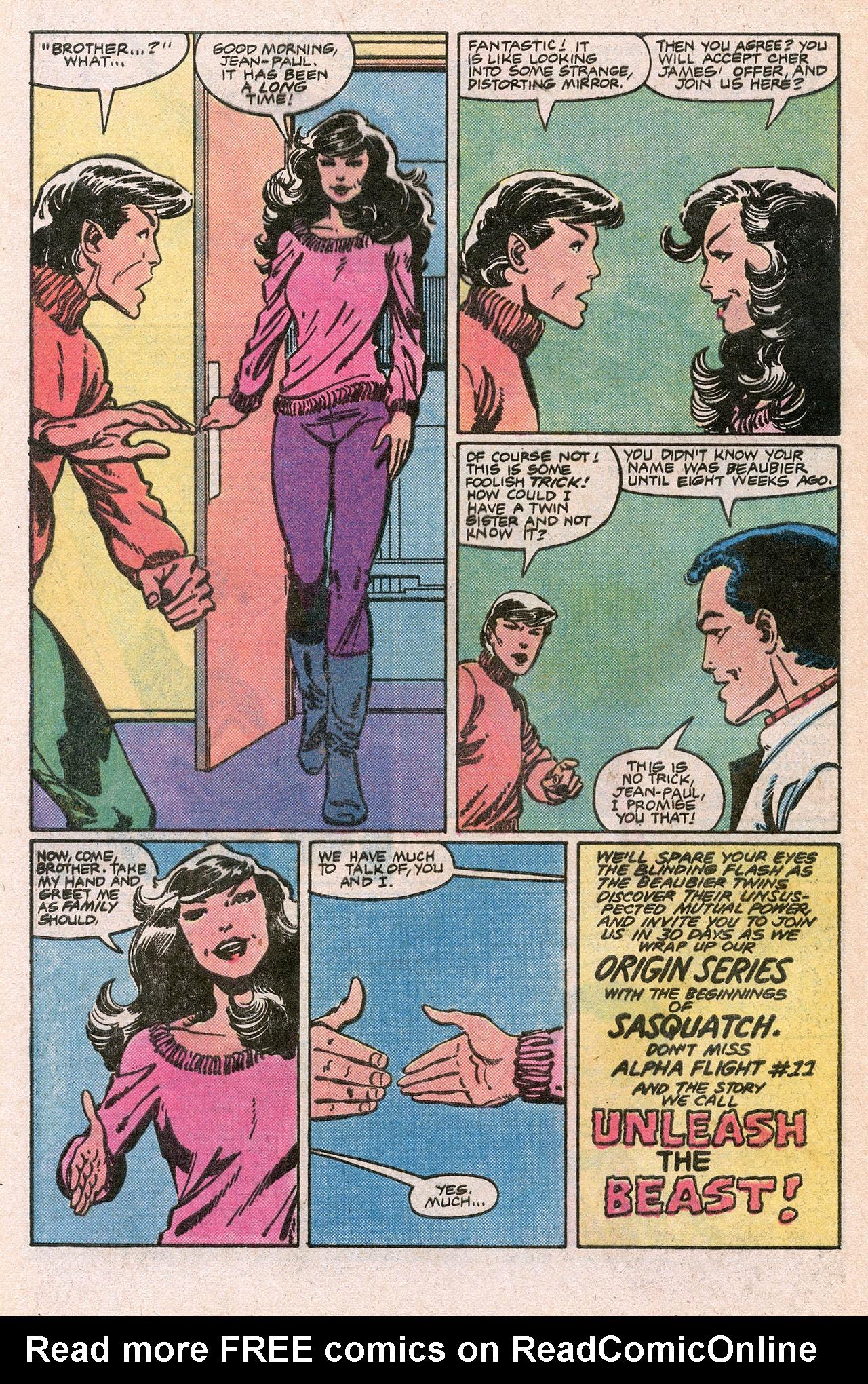 Read online Alpha Flight (1983) comic -  Issue #10 - 32