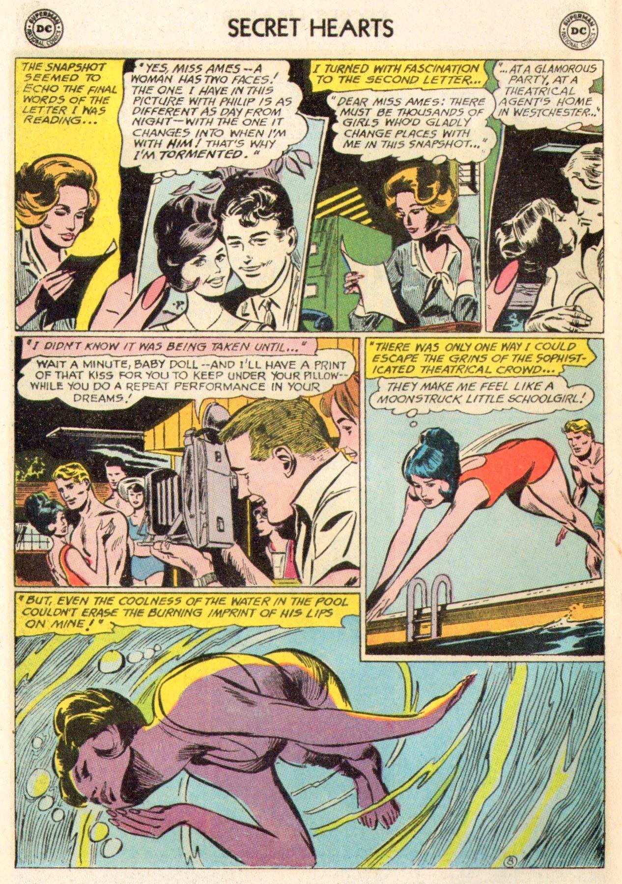 Read online Secret Hearts comic -  Issue #104 - 28
