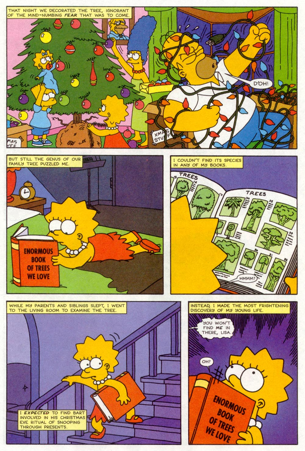 Read online Treehouse of Horror comic -  Issue #4 - 7