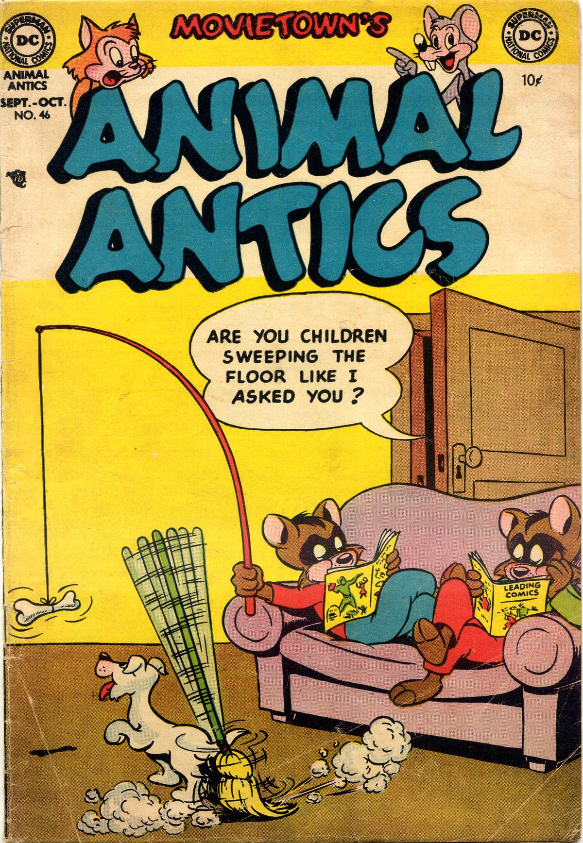 Animal Antics 46 Page 1