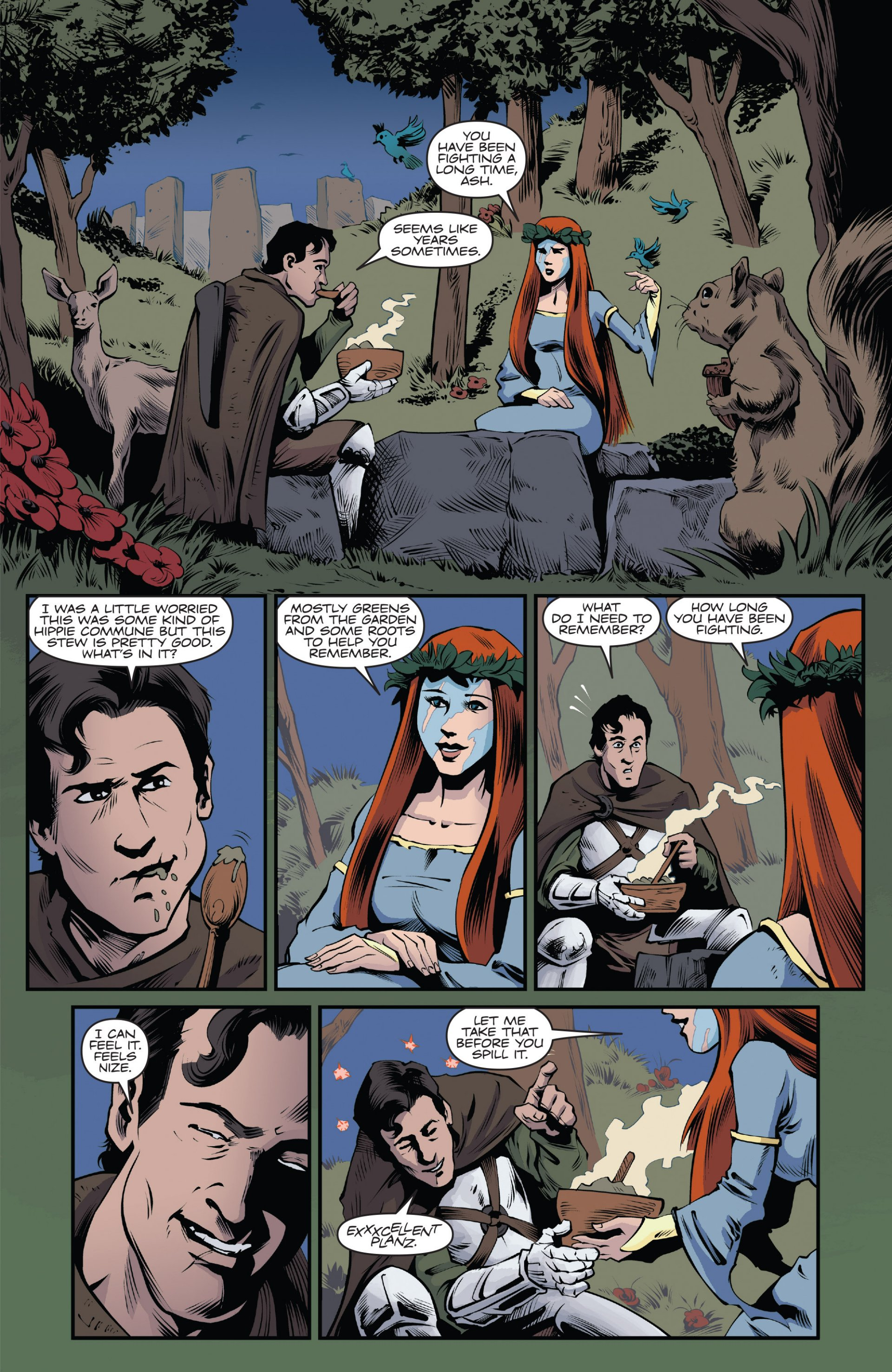 Read online Ash and the Army of Darkness comic -  Issue #7 - 5
