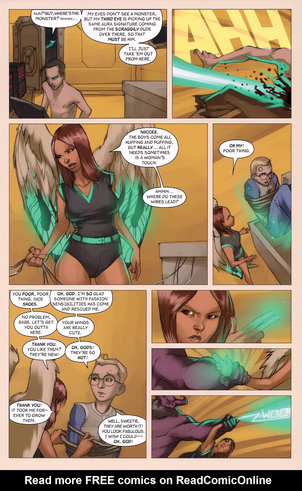 Read online Vescell comic -  Issue #6 - 25