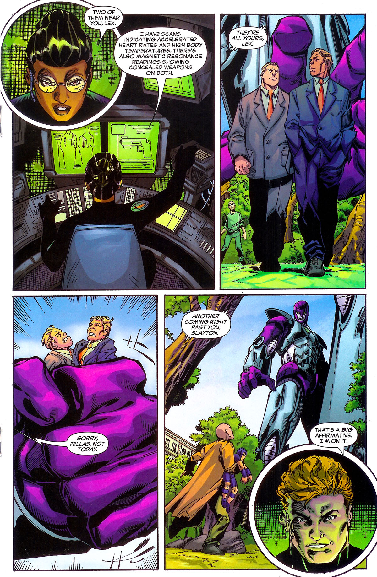 Read online Sentinel Squad O*N*E comic -  Issue #2 - 15