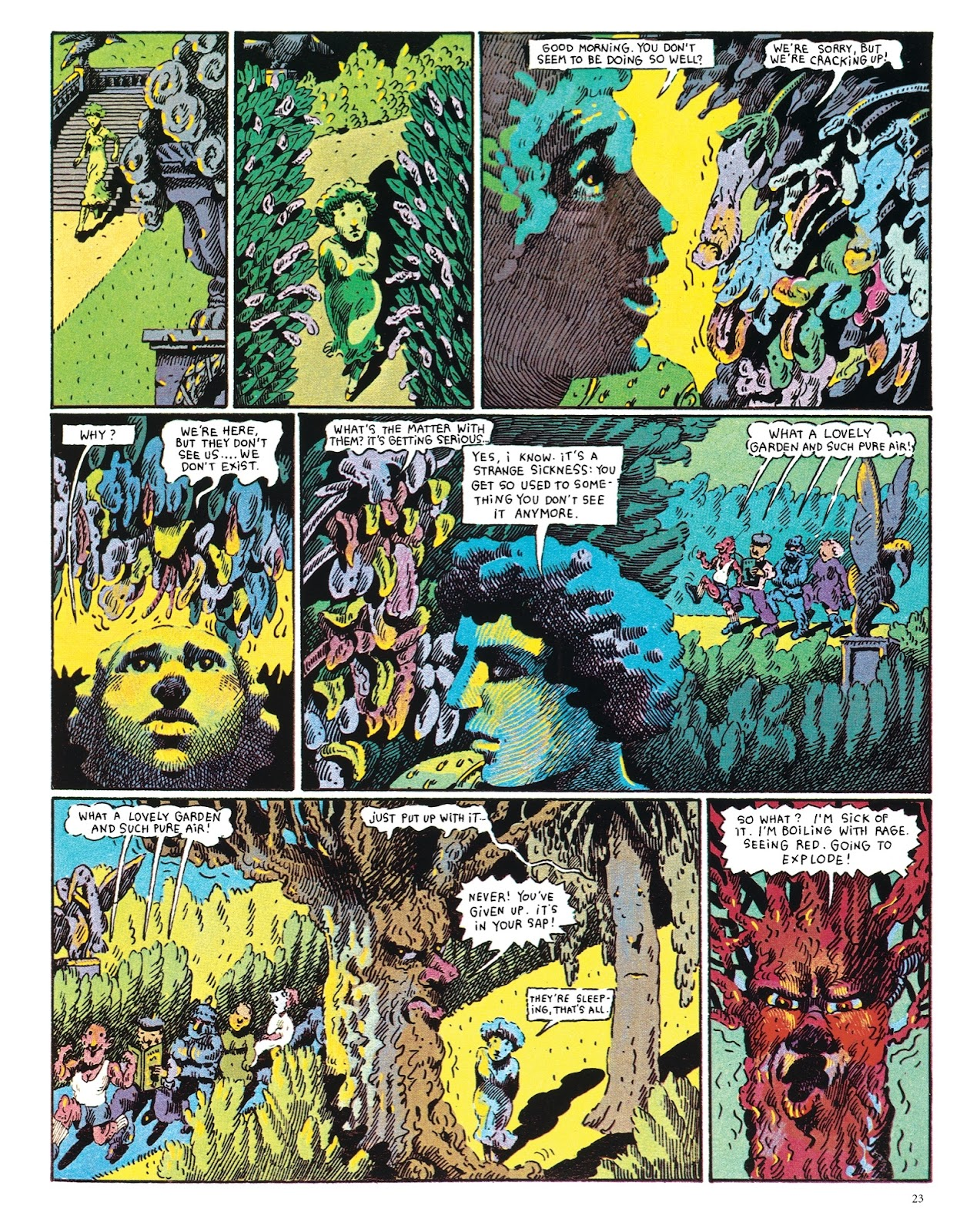 Read online The Green Hand and Other Stories comic -  Issue # TPB - 22