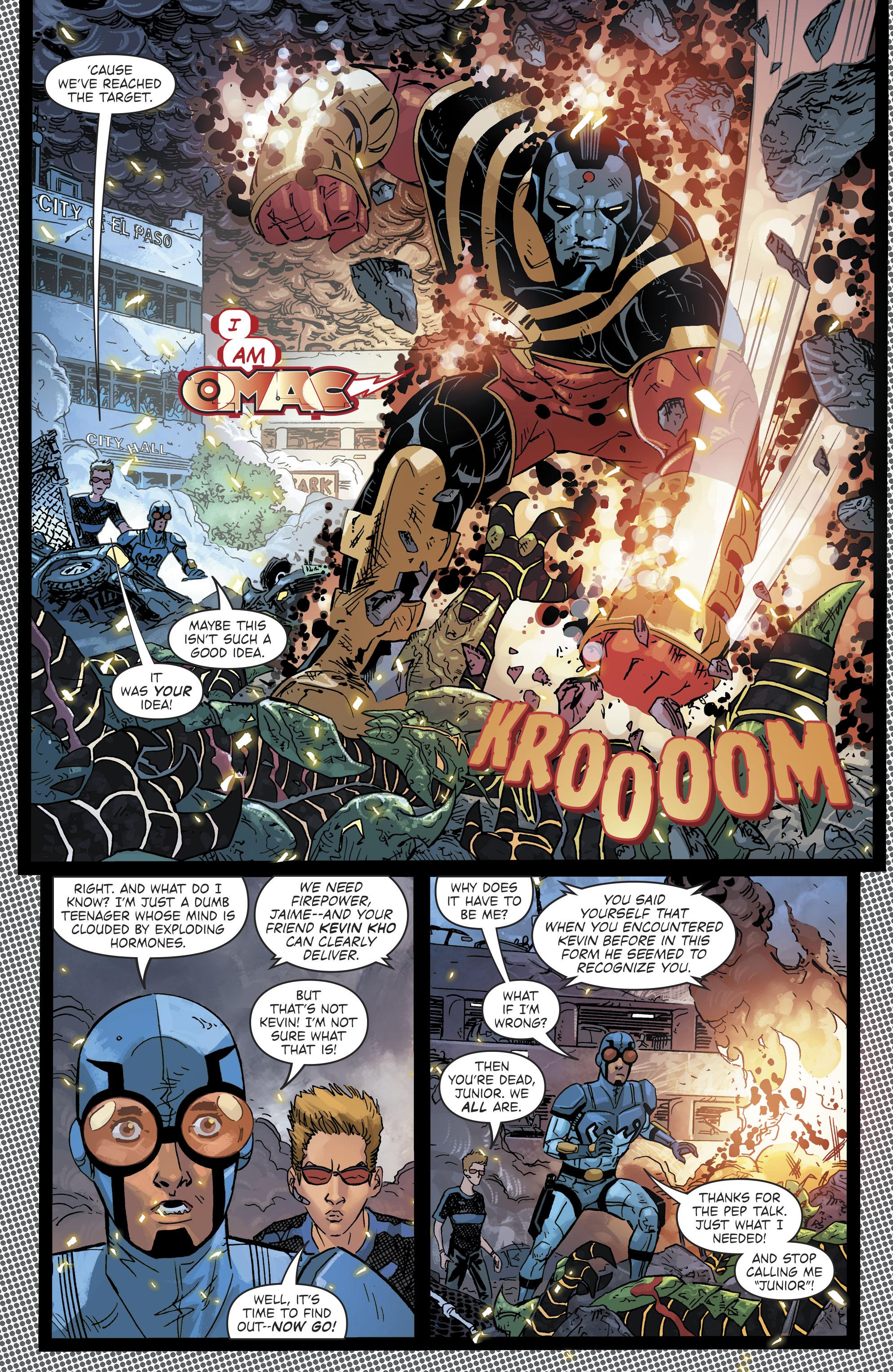 Read online Blue Beetle (2016) comic -  Issue #9 - 9