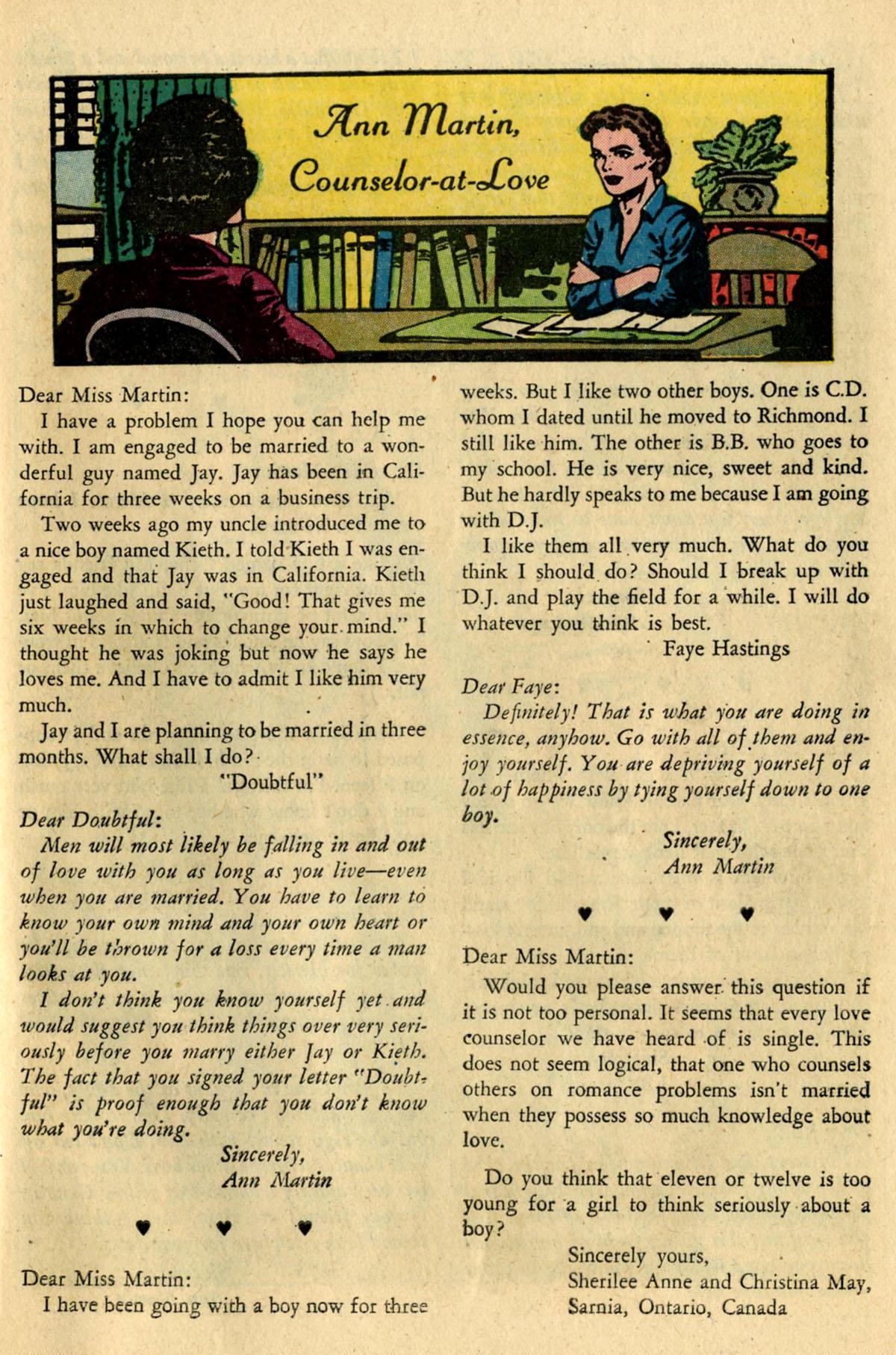 Read online Secret Hearts comic -  Issue #83 - 25