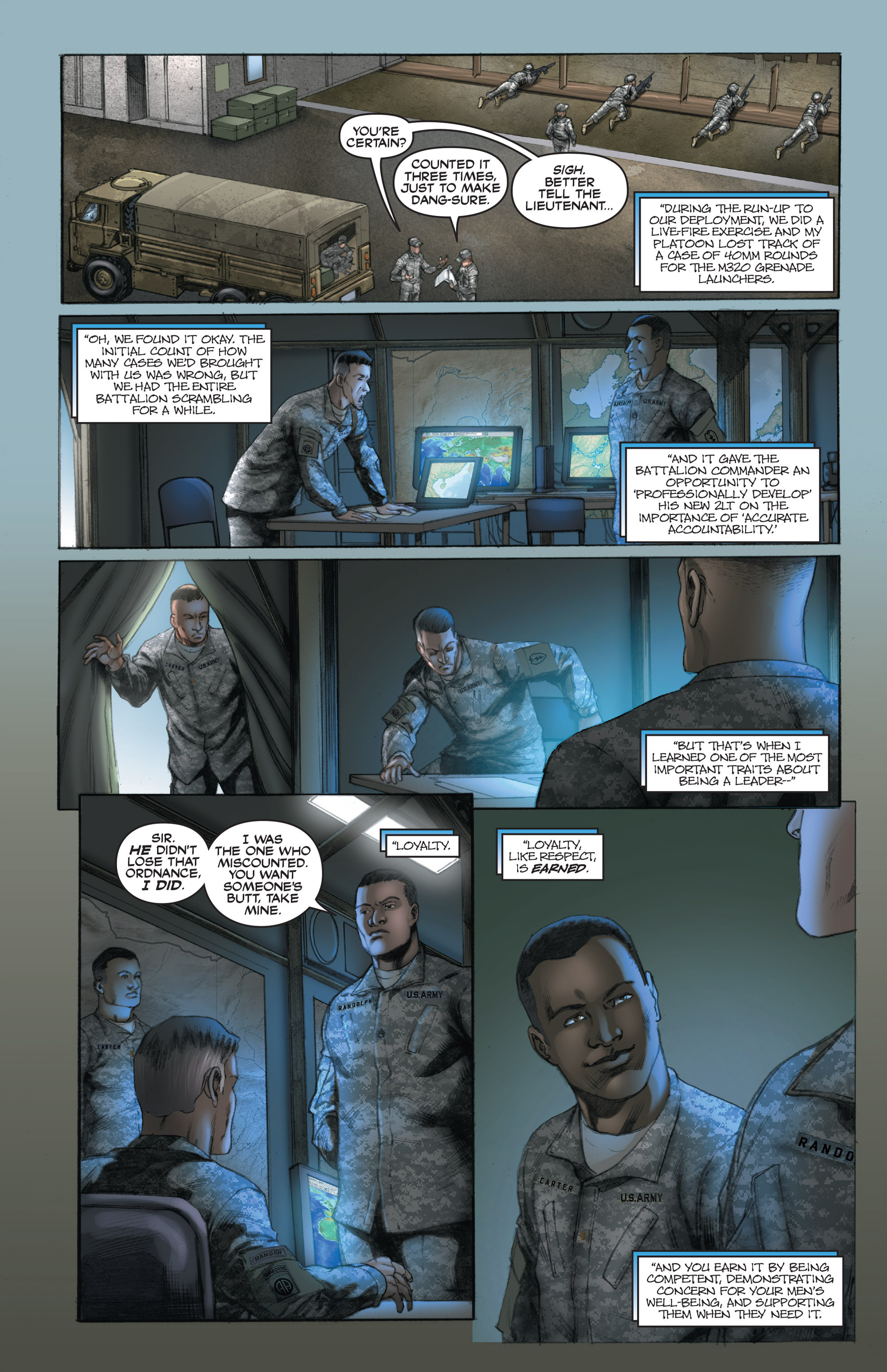 Read online America's Army comic -  Issue #14 - 8