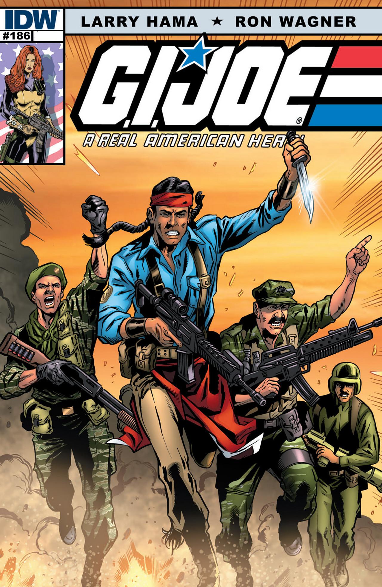 G.I. Joe: A Real American Hero 186 Page 1
