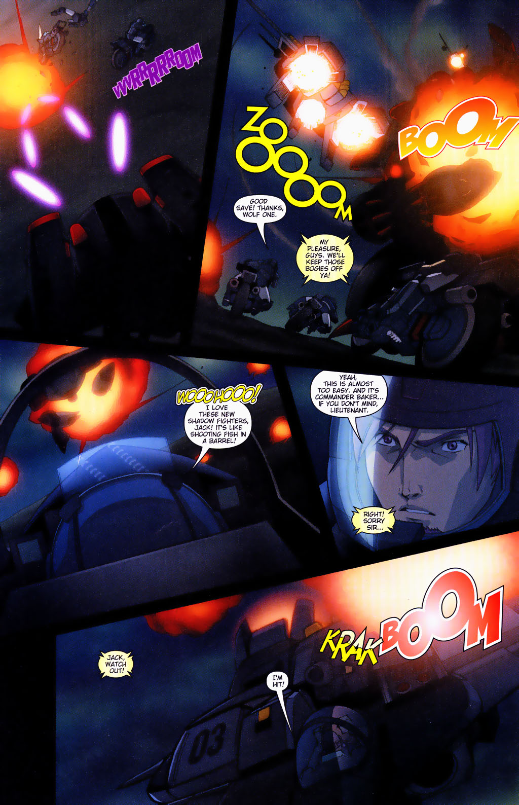 Read online Robotech: Prelude to the Shadow Chronicles comic -  Issue #4 - 4