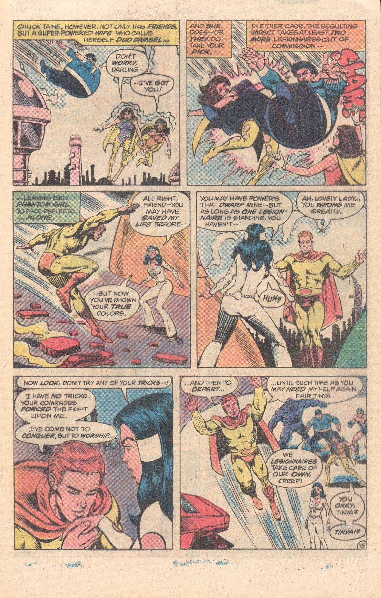 Legion of Super-Heroes (1980) 278 Page 15
