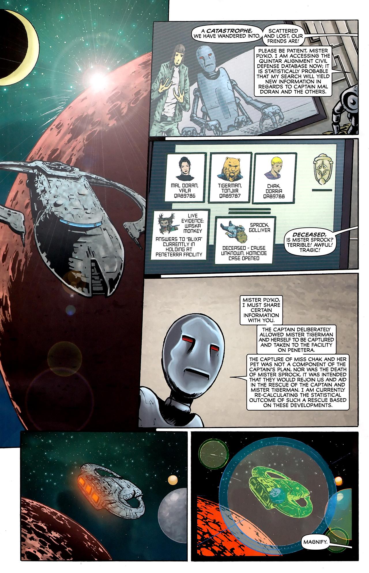 Read online Stargate Vala Mal Doran comic -  Issue #3 - 6