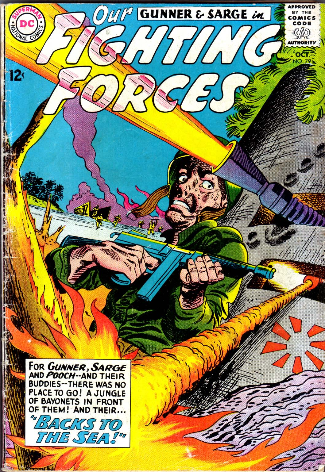Our Fighting Forces (1954) issue 79 - Page 1