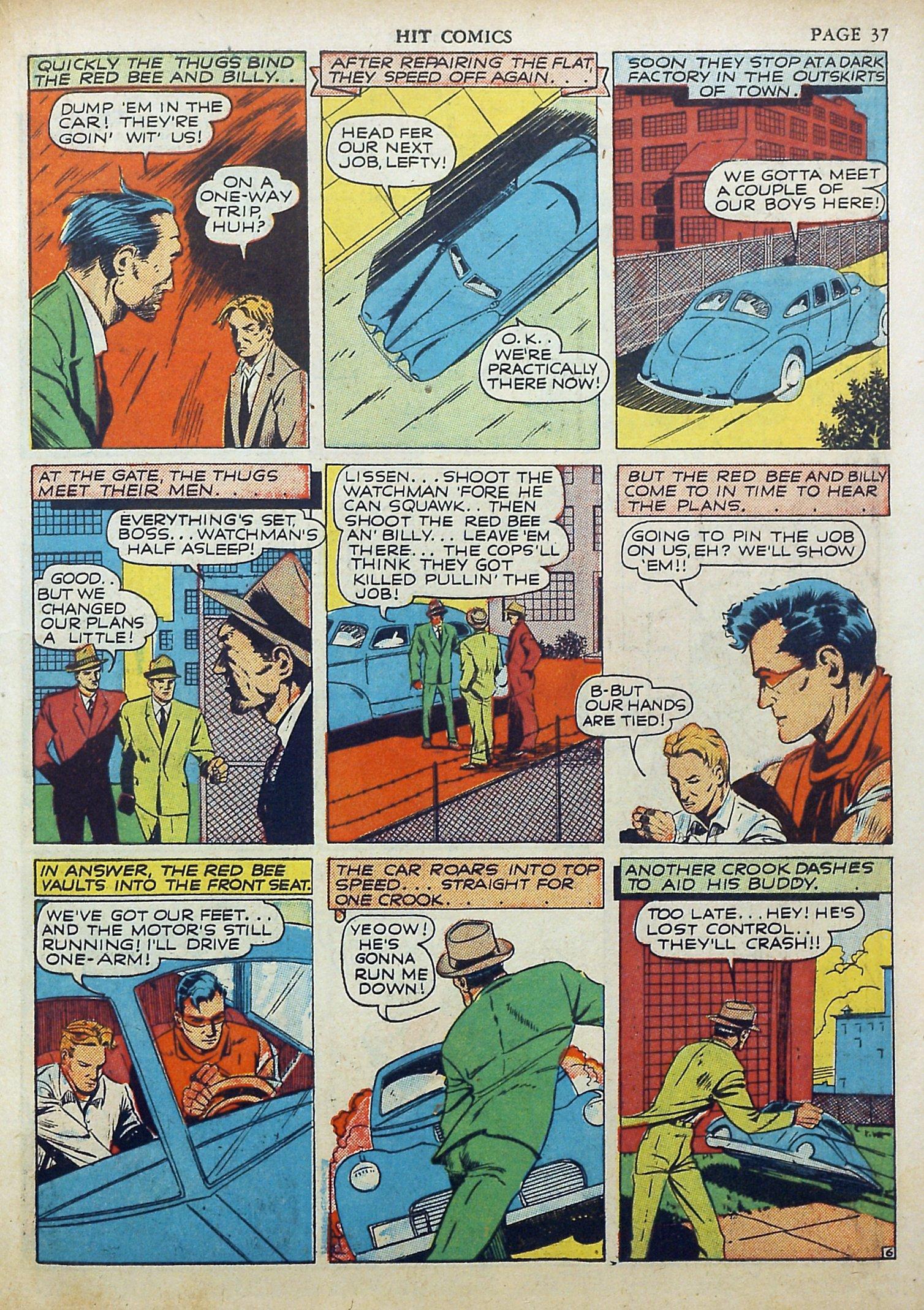 Read online Hit Comics comic -  Issue #17 - 39