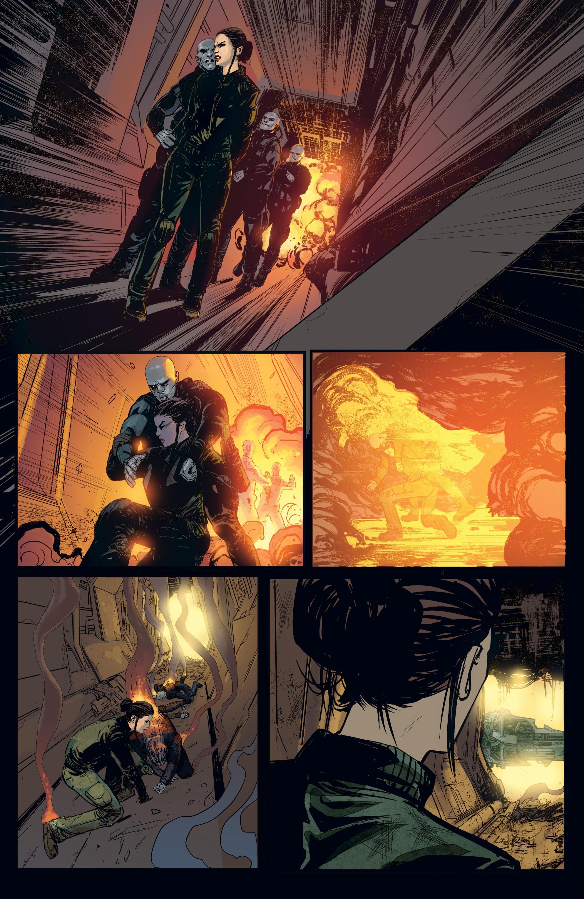 Read online Aliens: Resistance comic -  Issue # _TPB - 18