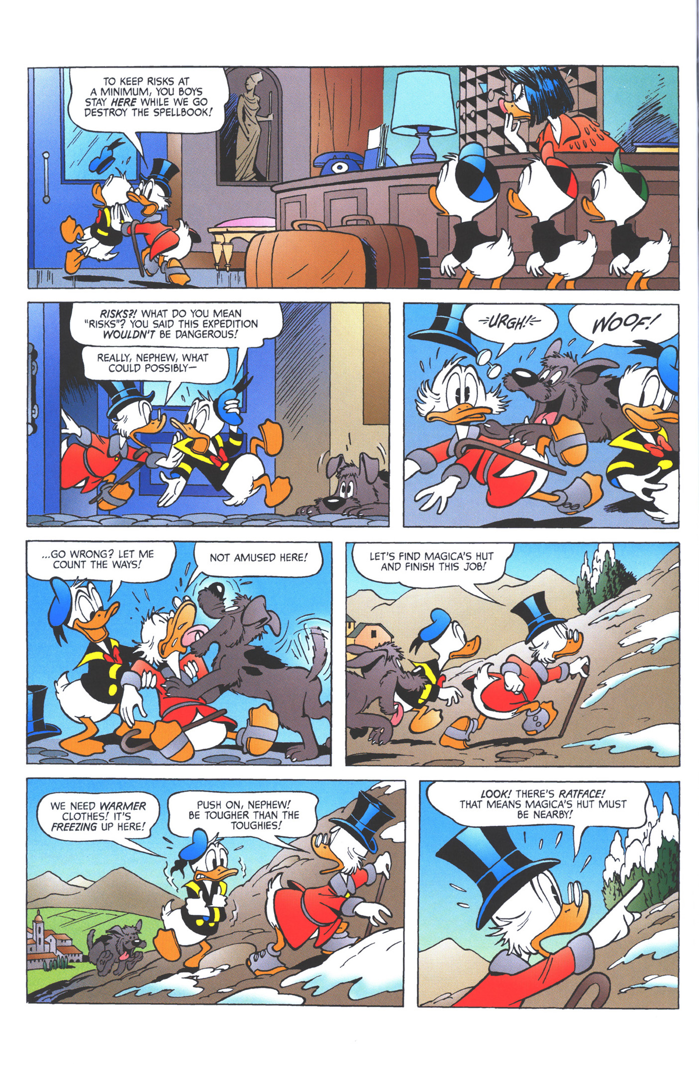 Read online Uncle Scrooge (1953) comic -  Issue #360 - 58