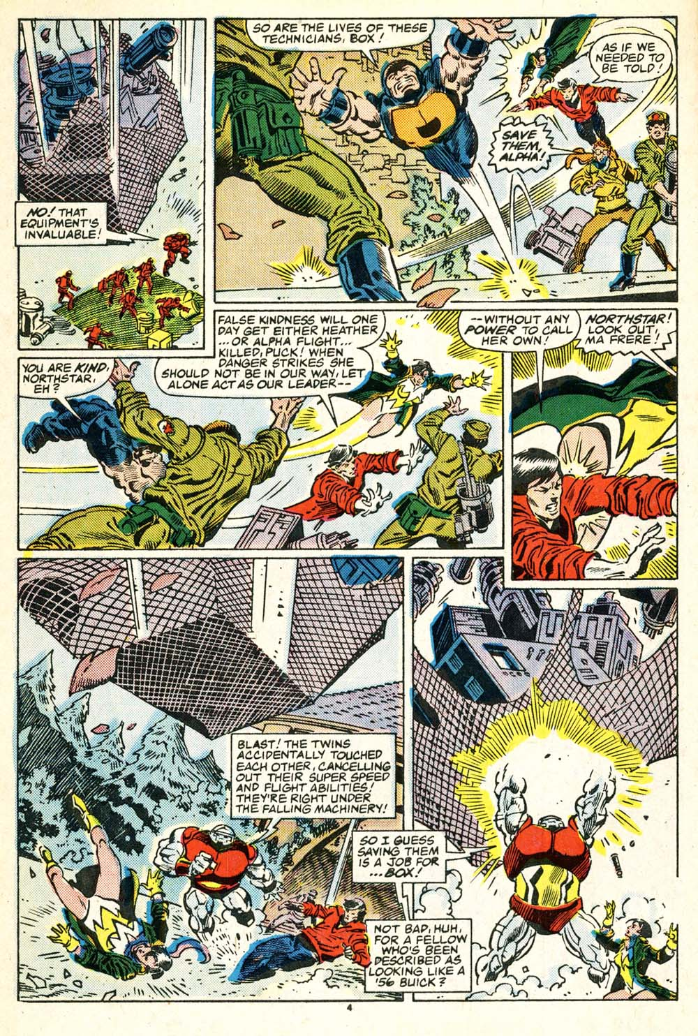 Read online Alpha Flight (1983) comic -  Issue #30 - 5