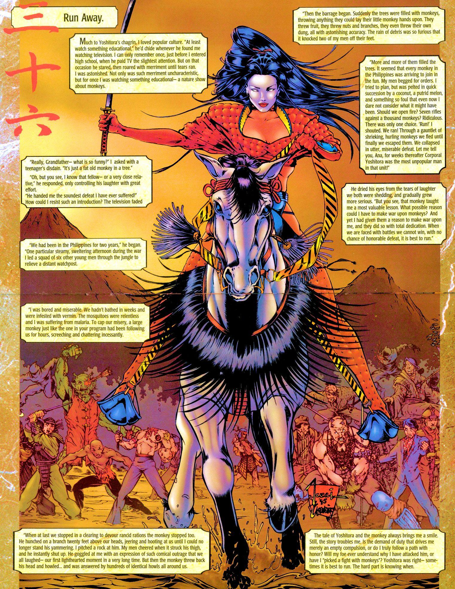 Read online Shi: Senryaku comic -  Issue #3 - 15