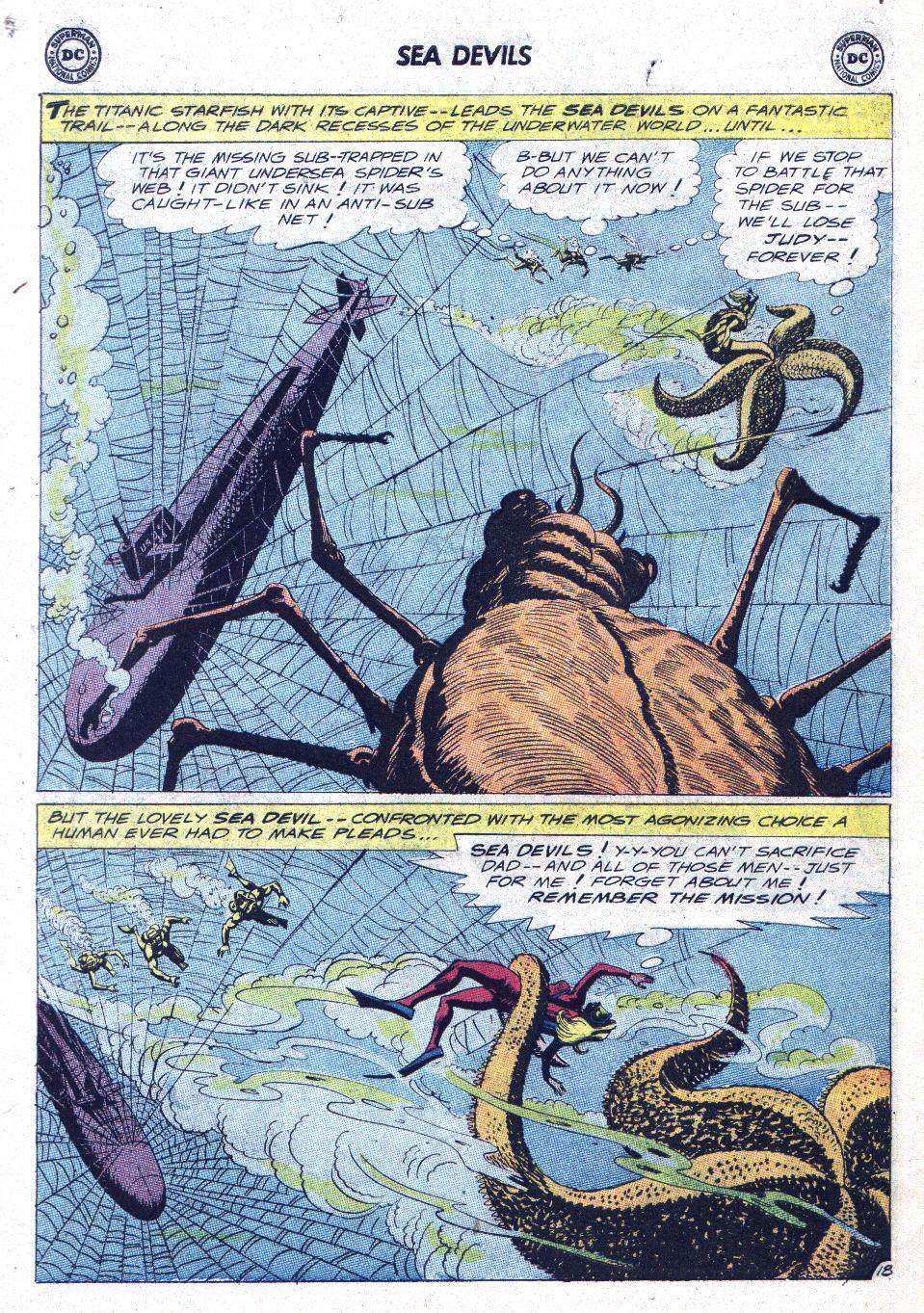 Read online Sea Devils comic -  Issue #15 - 25